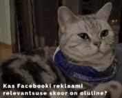 Facebooki relevantsuse skoor / Facebook Relevance Score