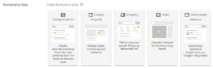 Google AdWords kampaania tüüp