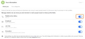 Millist infot jagan enda kohta läbi Facebooki profiili