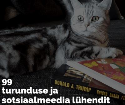 Sotsiaalmeedia ja turunduse lühendid ja mõisted