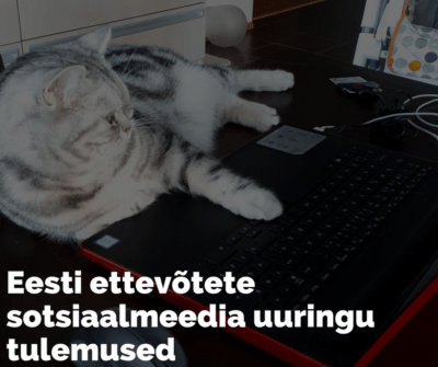 Eesti ettevõtete sotsiaalmeedia kasutus