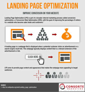 LPO (Landing Page Optimization) Maandumislehe optimeerimine