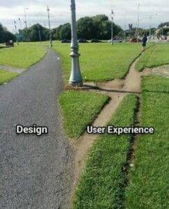 Disain vs. UX @mikeatherton