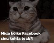 Mis infot Facebook kogub?