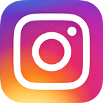 Instagram logo, #milosreklaam