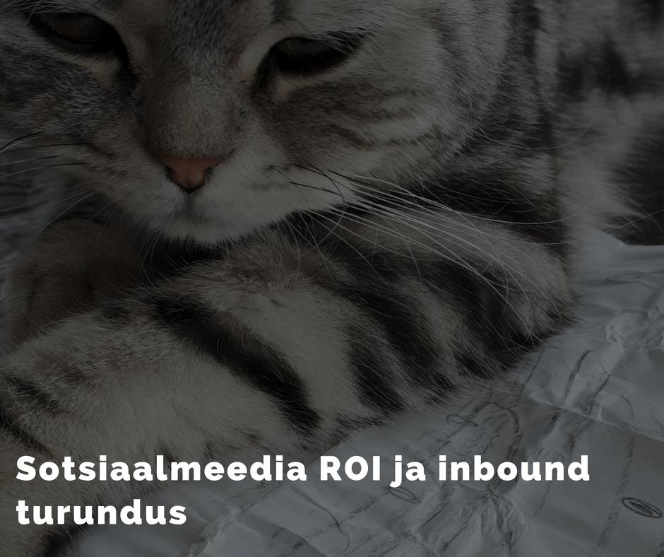 Sotsiaalmeedia ROI mõõtmine ja Inbound turundus