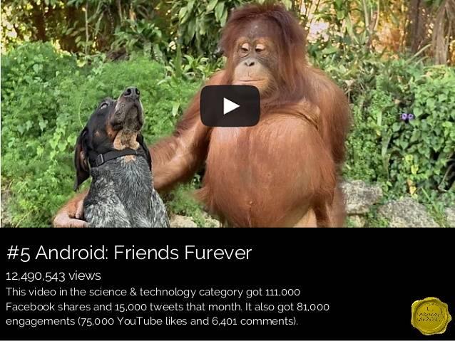 Friends Furever reklaamklipp. Android. Videoturundus