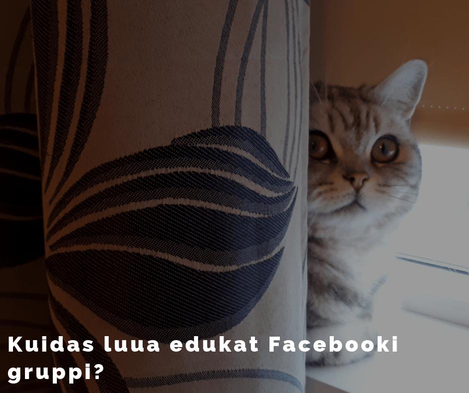 Kuidas luua edukas Facebooki grupp?
