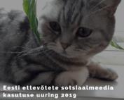 Eesti ettevõtete sotsiaalmeedia kasutuse uuring 2019