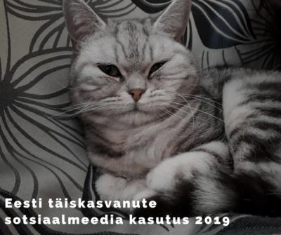 Eesti täiskasvanute sotsiaalmeedia kasutamise harjumused