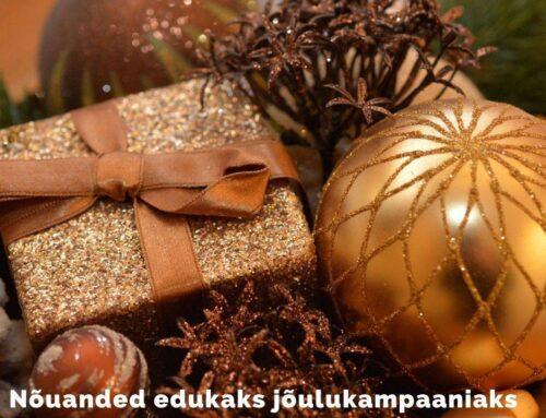 Nõuanded edukaks jõulukampaaniaks