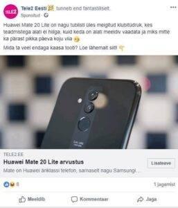 Halb huumor. Tele2. Huawei