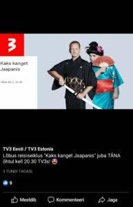 TV3 Eesti Facebooki kaanefoto