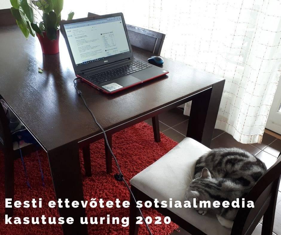 Eesti ettevõtete sotsiaalmeedia kasutuse uuring 2020
