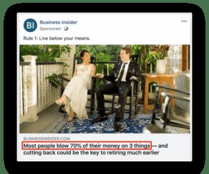 Facebooki reklaami pealkiri4