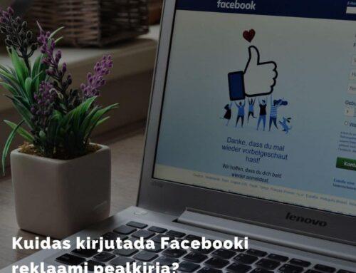 Facebooki reklaami pealkiri